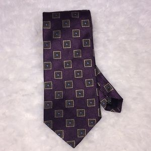 Jos. A. BANK silk tie made in USA hand sewn